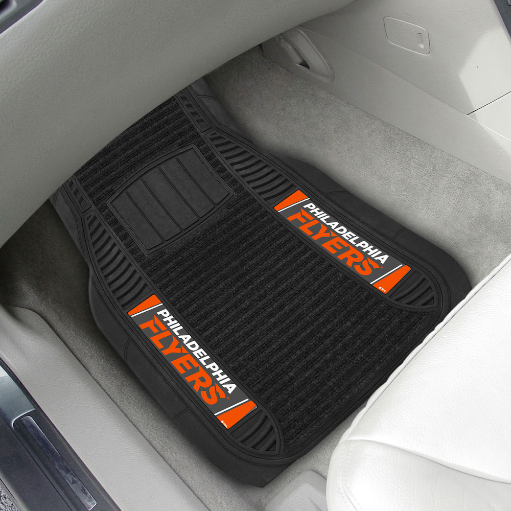 Philadelphia Flyers Deluxe 20 x 27 Car Floor Mats