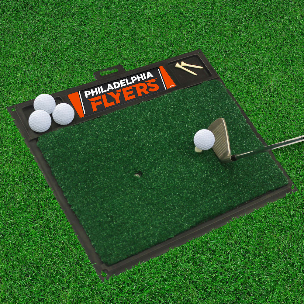 Philadelphia Flyers Golf Hitting Mat