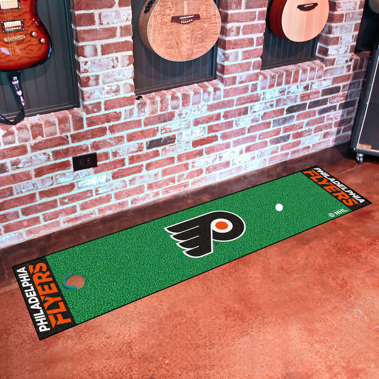 Philadelphia Flyers Putting Green Mat 18 x 72