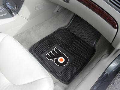 Philadelphia Flyers Car Floor Mats 18 x 27 Heavy Duty Vinyl Pair