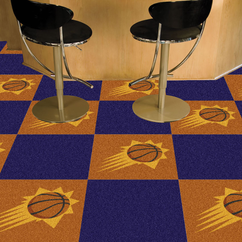 Phoenix Suns Carpet Tiles 18x18 in.