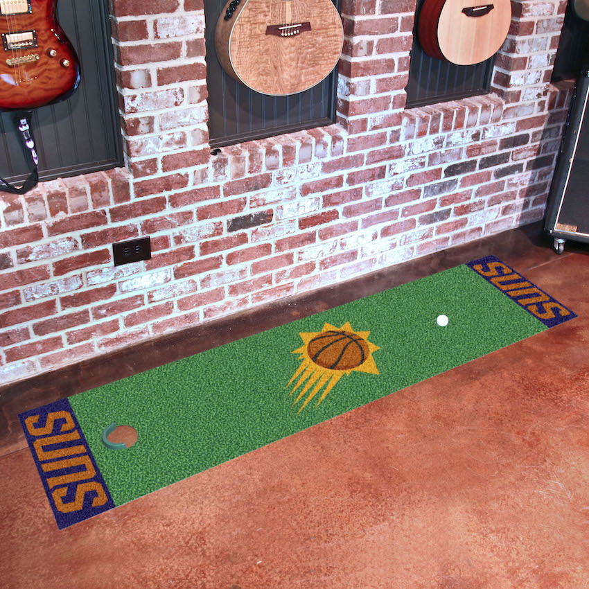 Phoenix Suns Putting Green Mat 18 x 72