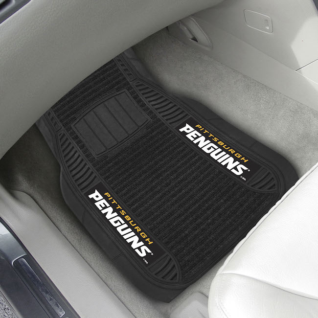 Pittsburgh Penguins Deluxe 20 x 27 Car Floor Mats