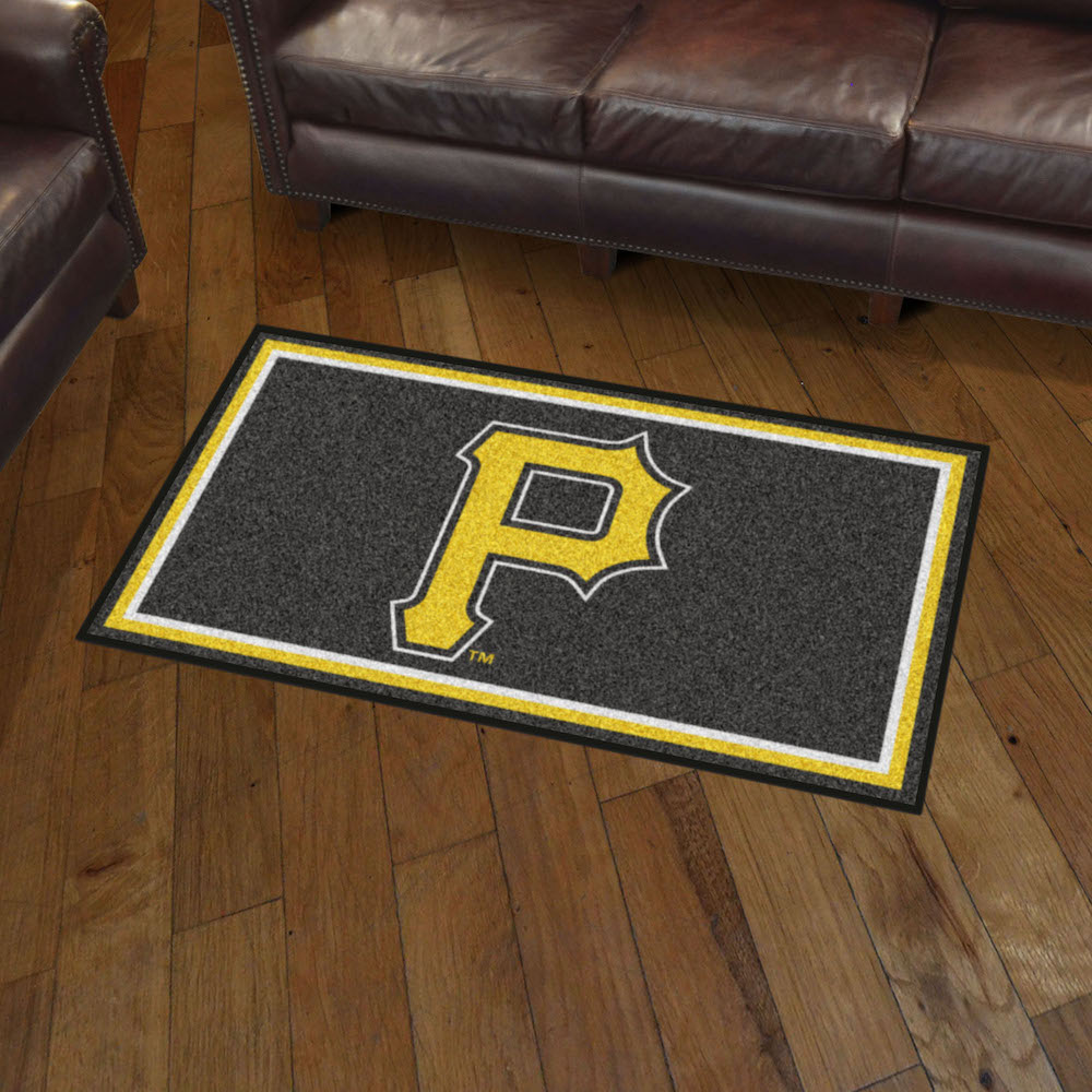 Pittsburgh Pirates 3x5 Area Rug