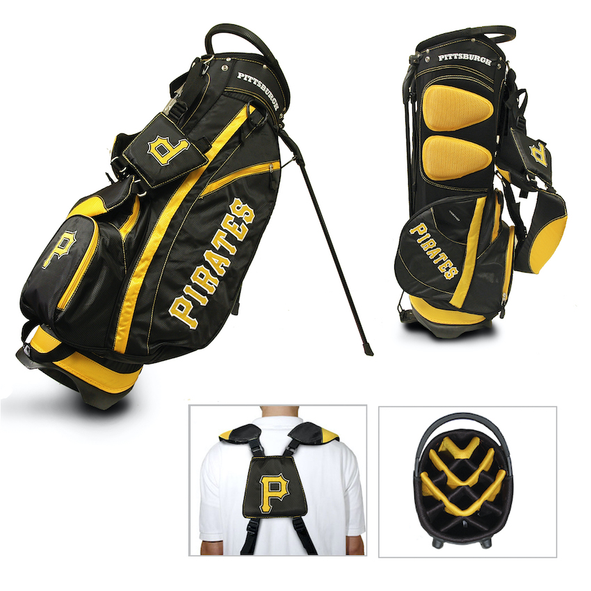 Pittsburgh Pirates Fairway Carry Stand Golf Bag