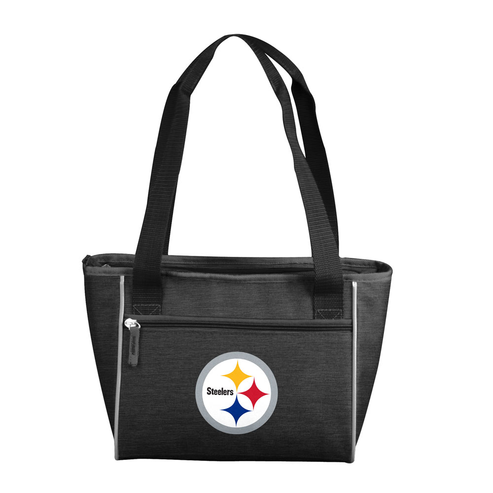Pittsburgh Steelers Crosshatch 16 Can Cooler Tote