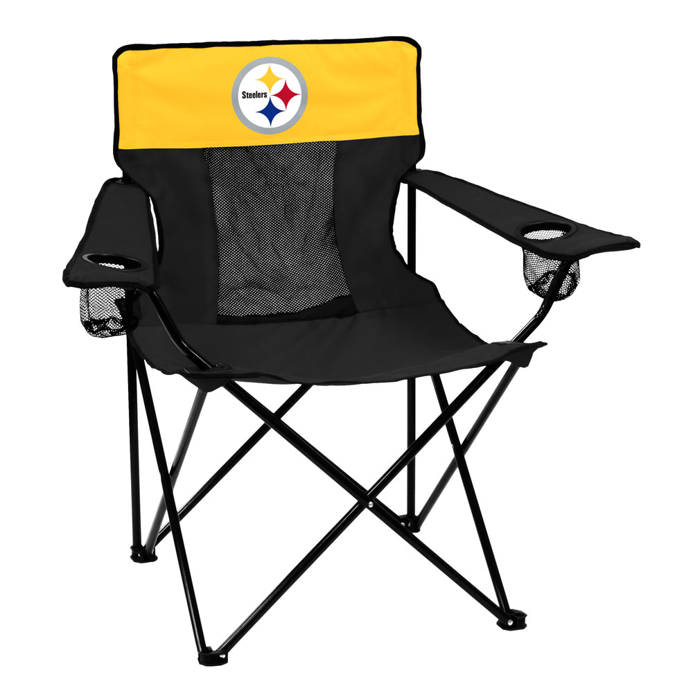Pittsburgh Steelers ELITE logo folding camp style chair