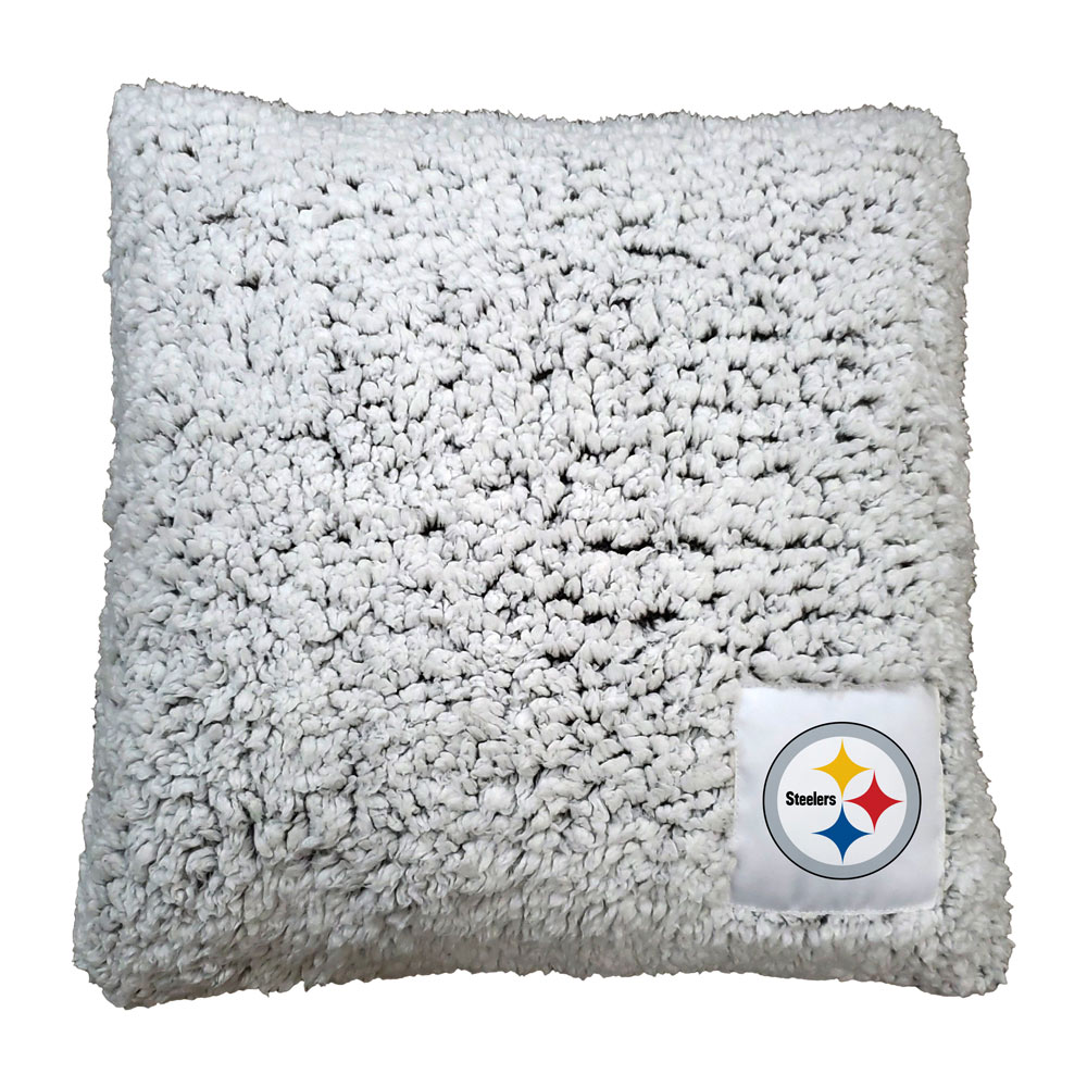 Pittsburgh Steelers Frosty Throw Pillow