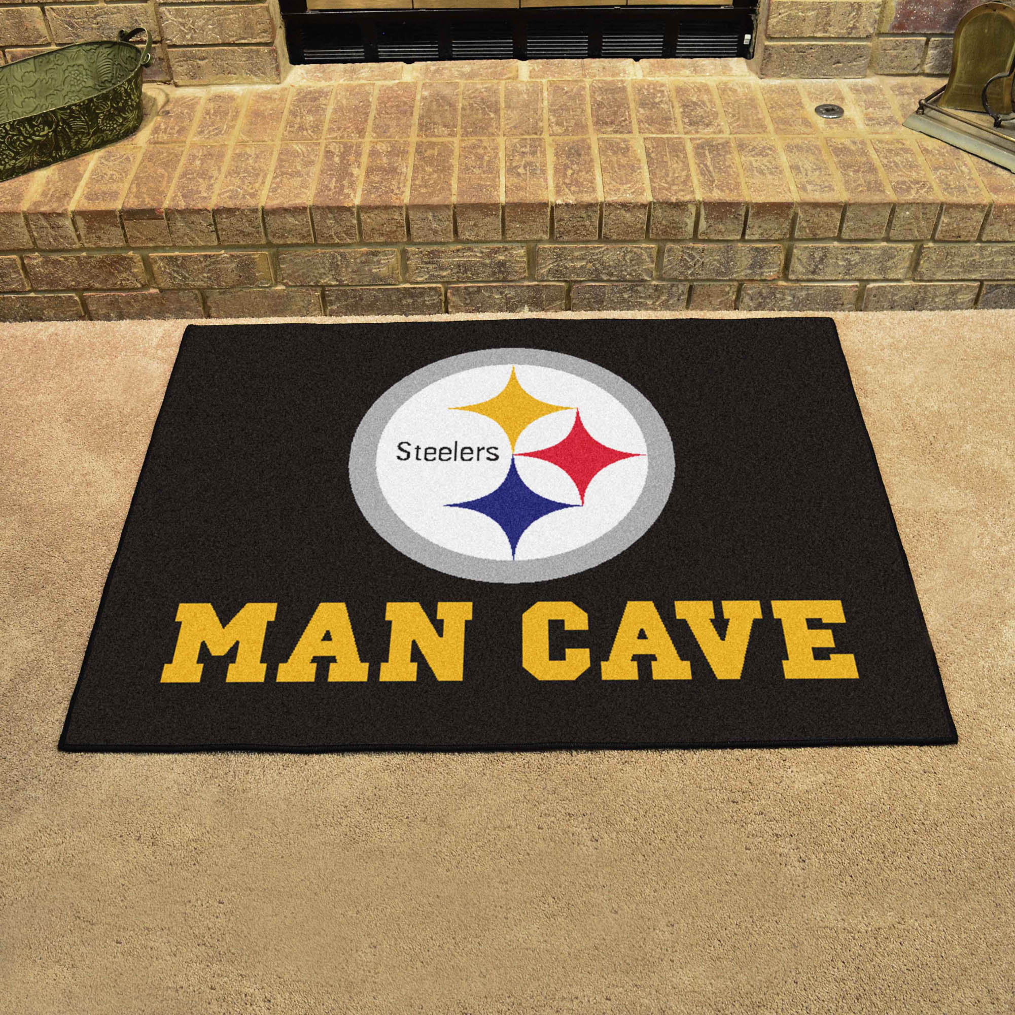 Pittsburgh Steelers All Star 34 X 45 Man Cave Floor Mat
