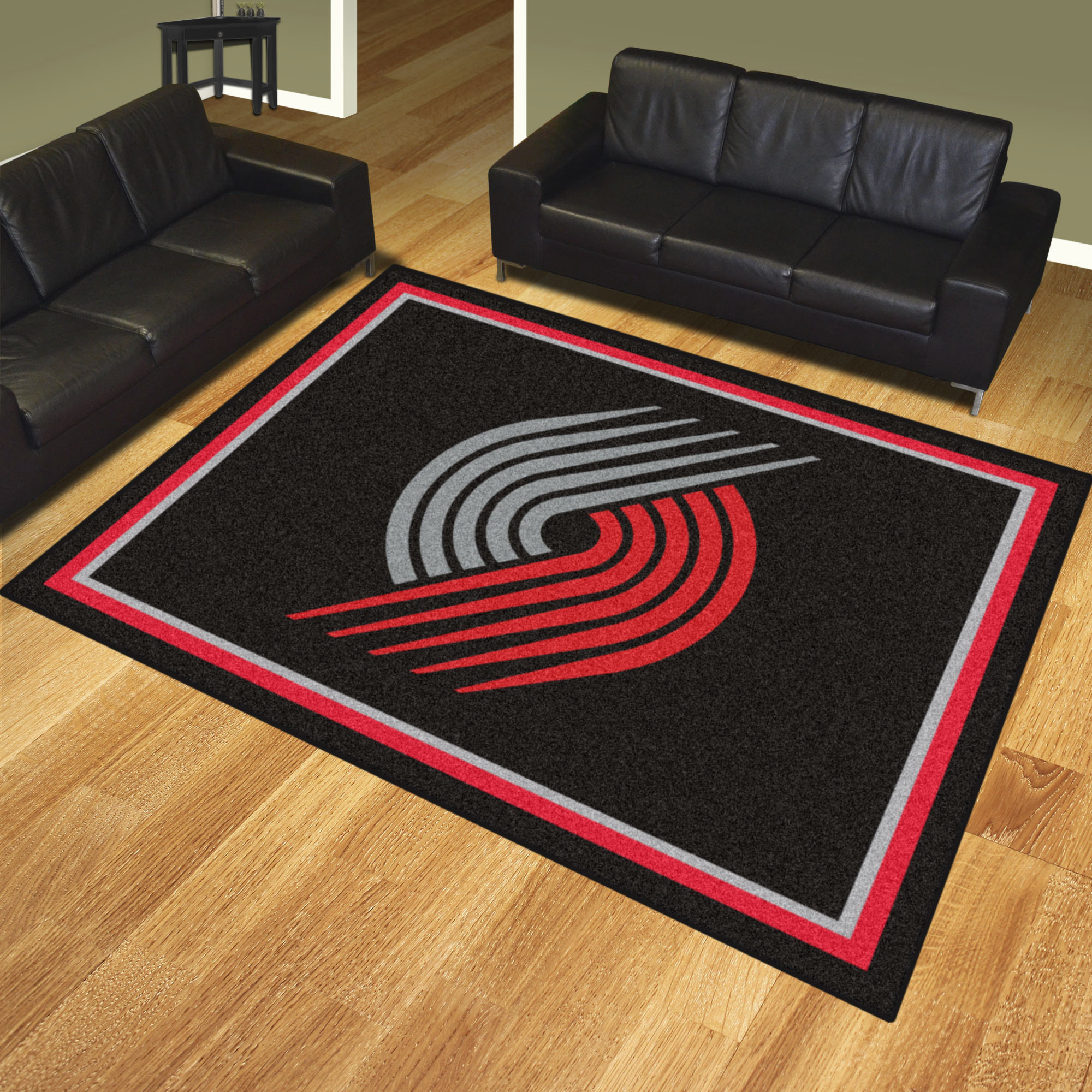 Portland Trail Blazers Ultra Plush 8x10 Area Rug