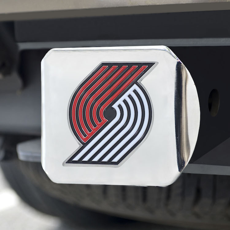 Portland Trail Blazers Color Chrome Trailer Hitch Cover