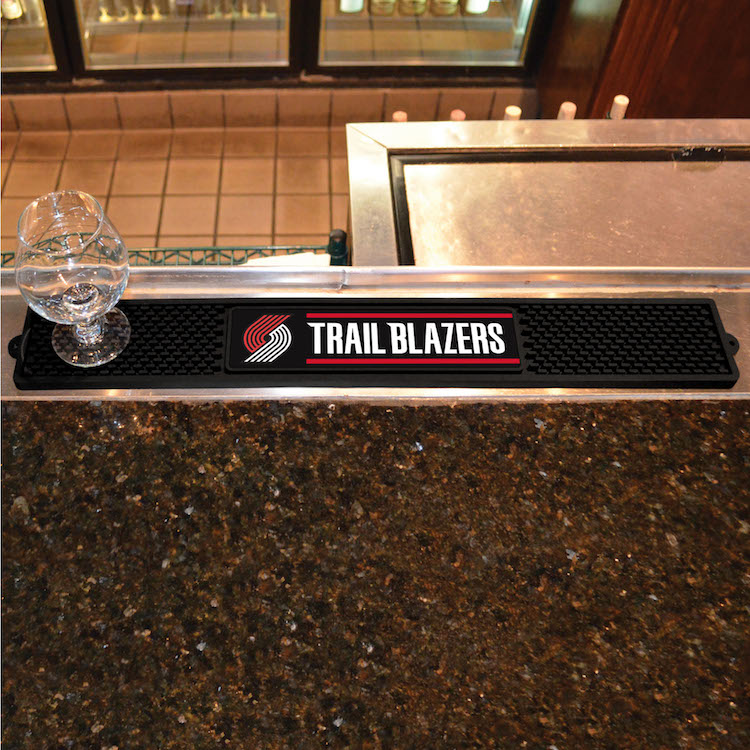 Portland Trail Blazers Bar Drink Mat