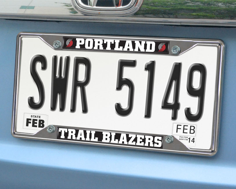 Portland Trail Blazers License Plate Frame