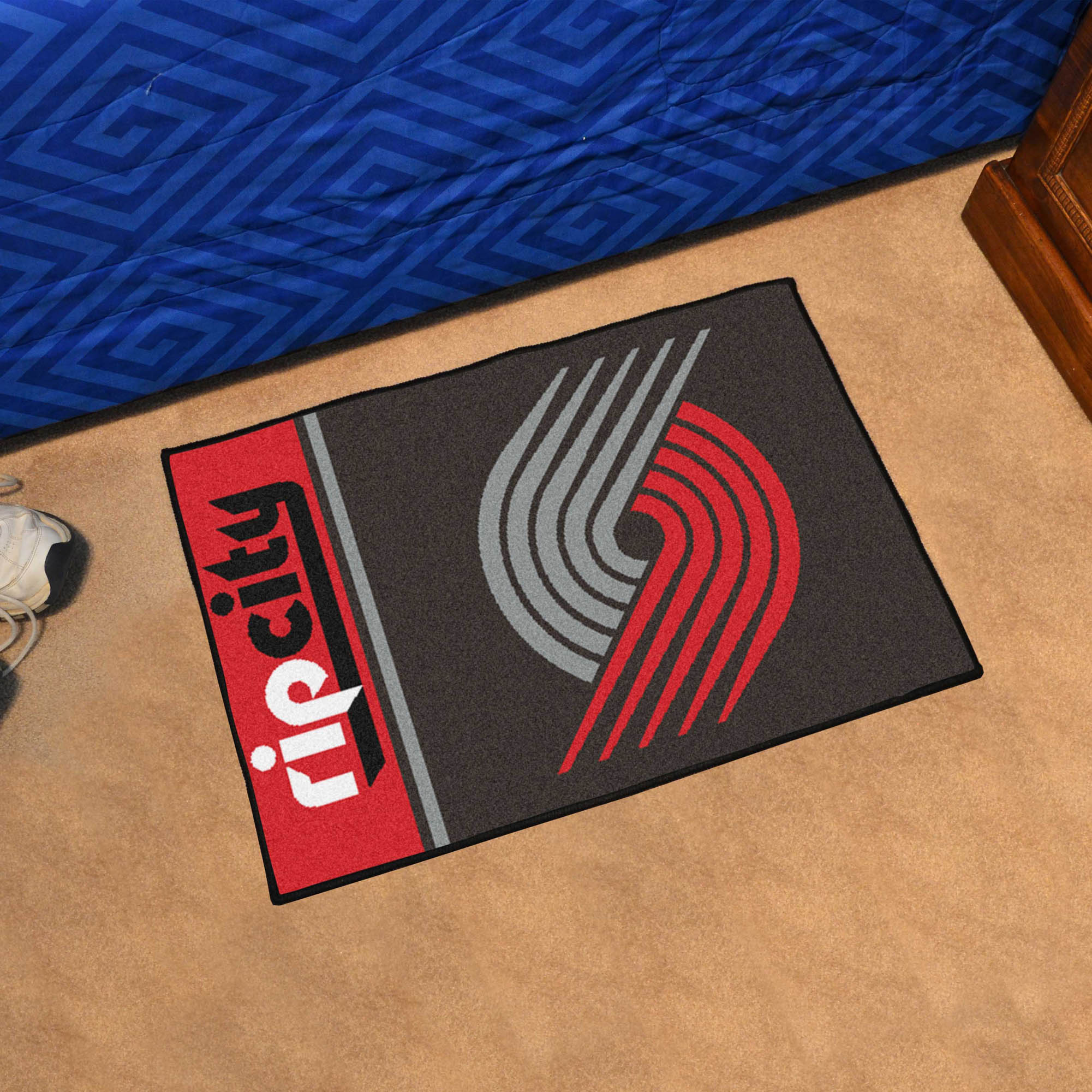 Portland Trail Blazers 20 x 30 Uniform Inspired Starter Rug
