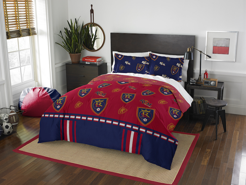 Real Salt Lake QUEEN/FULL size Comforter and 2 Shams