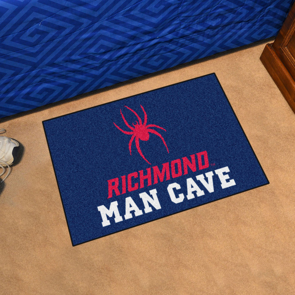 Richmond Spiders MAN CAVE 20 x 30 STARTER Floor Mat