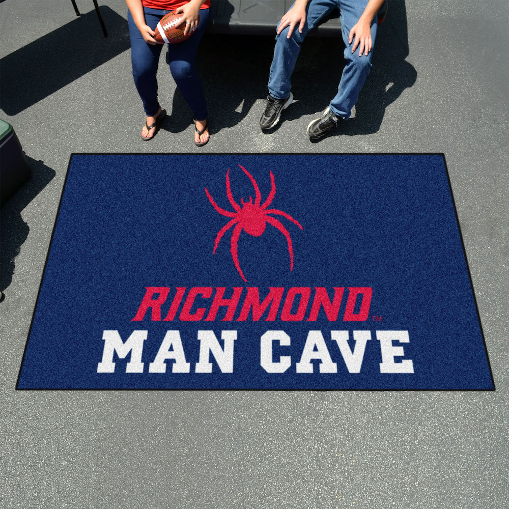 Richmond Spiders UTILI-MAT 60 x 96 MAN CAVE Rug