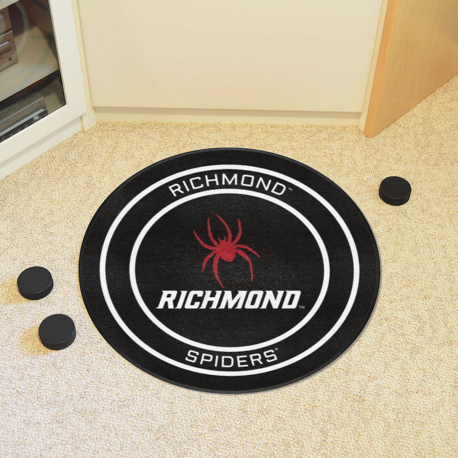 Richmond Spiders Round Hockey Puck Mat