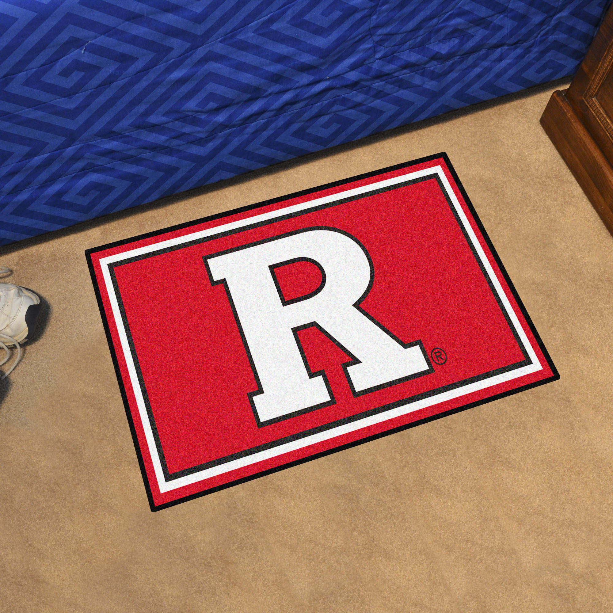 Rutgers Scarlet Knights 3x5 Area Rug
