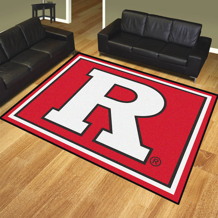 Rutgers Scarlet Knights Ultra Plush 8x10 Area Rug