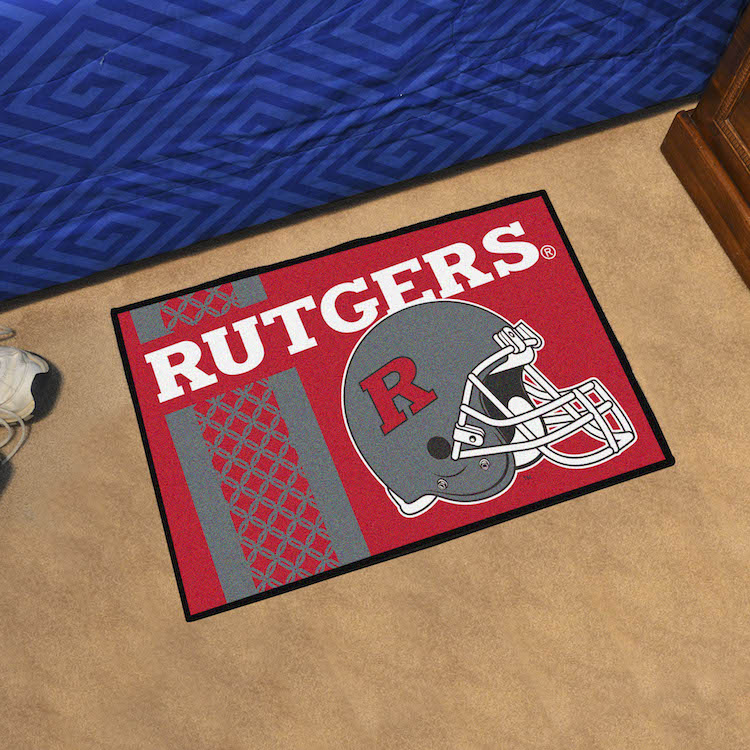 Rutgers Scarlet Knights 20 x 30 STARTER Floor Mat ALTERNATE