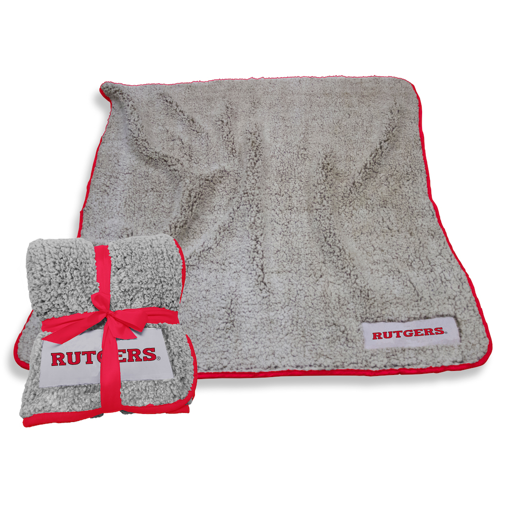 Rutgers Scarlet Knights Frosty Throw Blanket