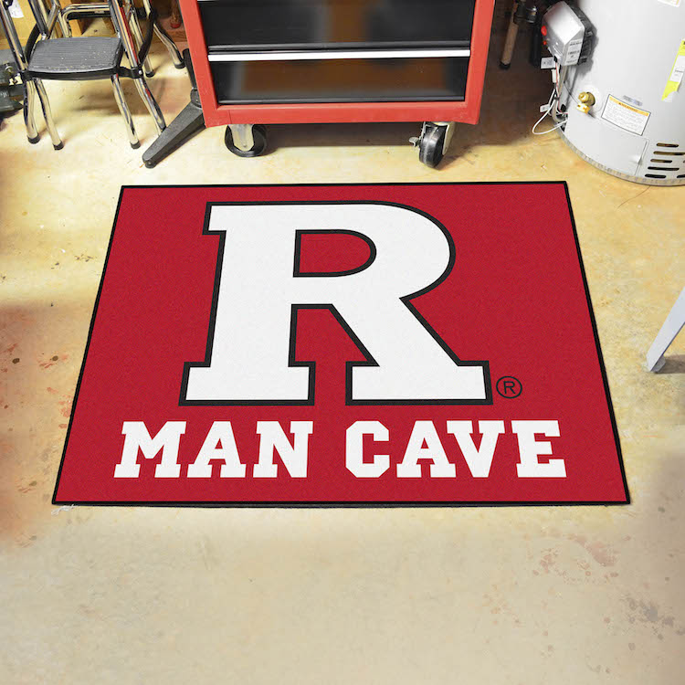 Rutgers Scarlet Knights ALL STAR 34 x 45 MAN CAVE Floor Mat