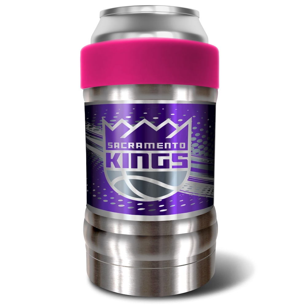Sacramento Kings LOCKER NBA Insulated Can and Bottle Holder - Pink