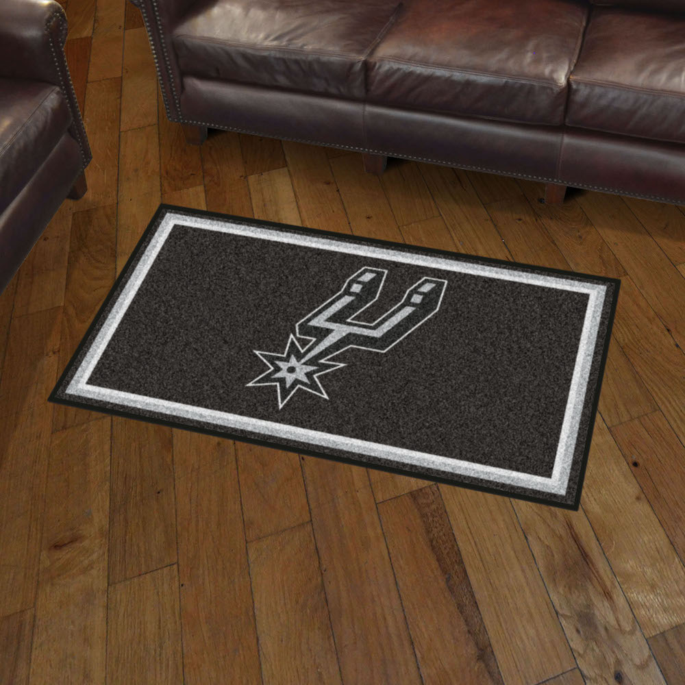 San Antonio Spurs 3x5 Area Rug