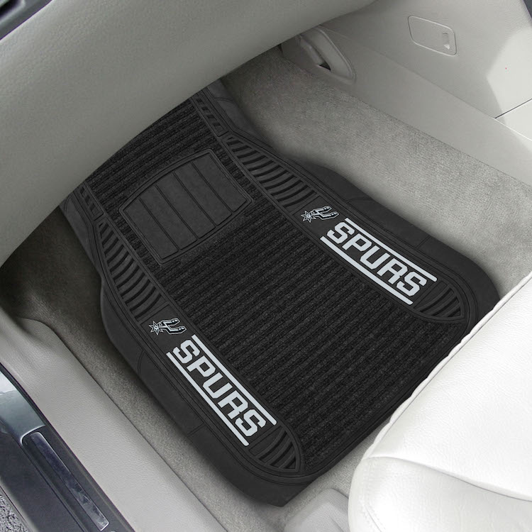 San Antonio Spurs Deluxe 20 x 27 Car Floor Mats