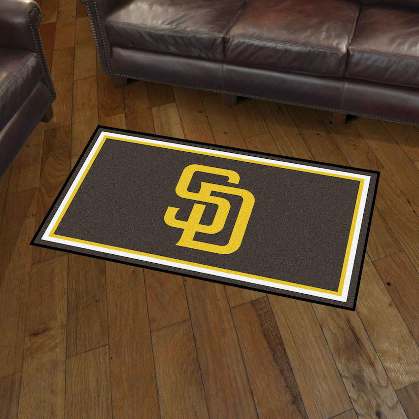 San Diego Padres 3x5 Area Rug