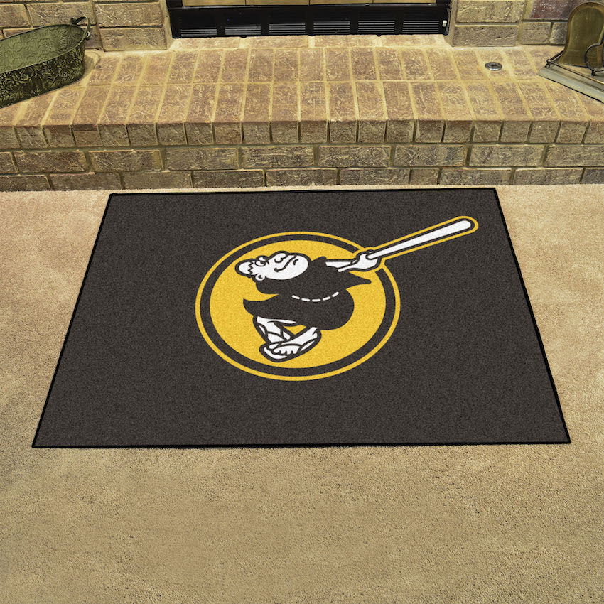 San Diego Padres ALT LOGO ALL STAR 34 x 45 Floor Mat
