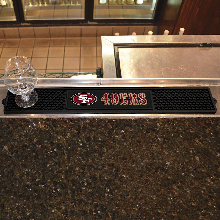 San Francisco 49ers Bar Drink Mat