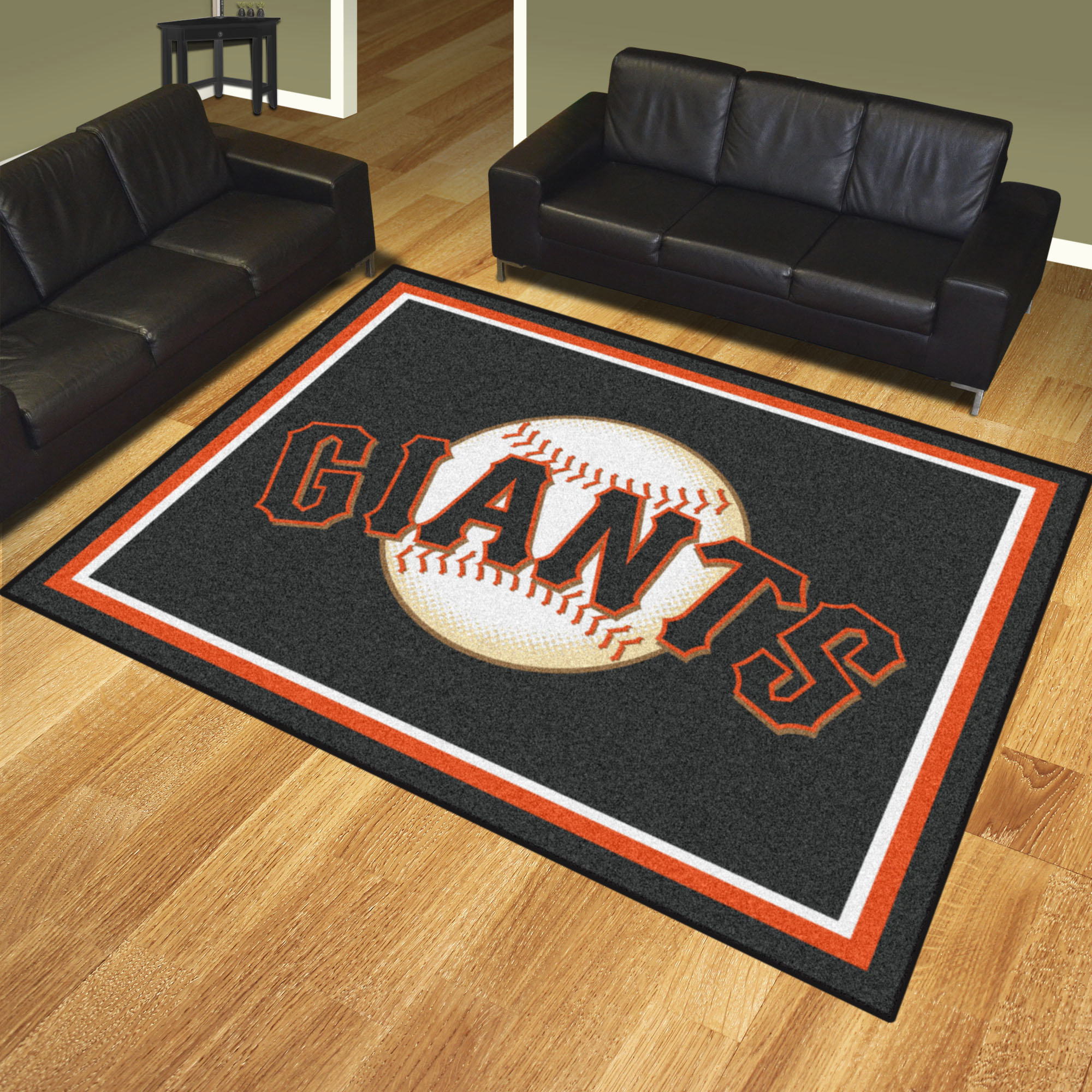 San Francisco Giants Ultra Plush 8x10 Area Rug