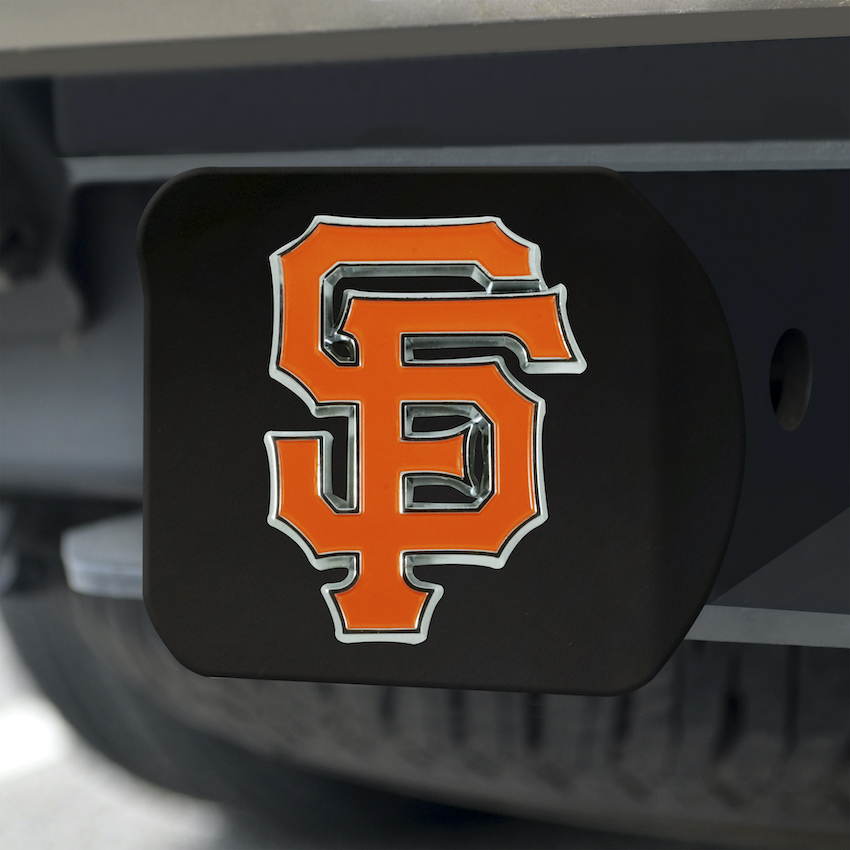 San Francisco Giants Black and Color Trailer Hitch Cover