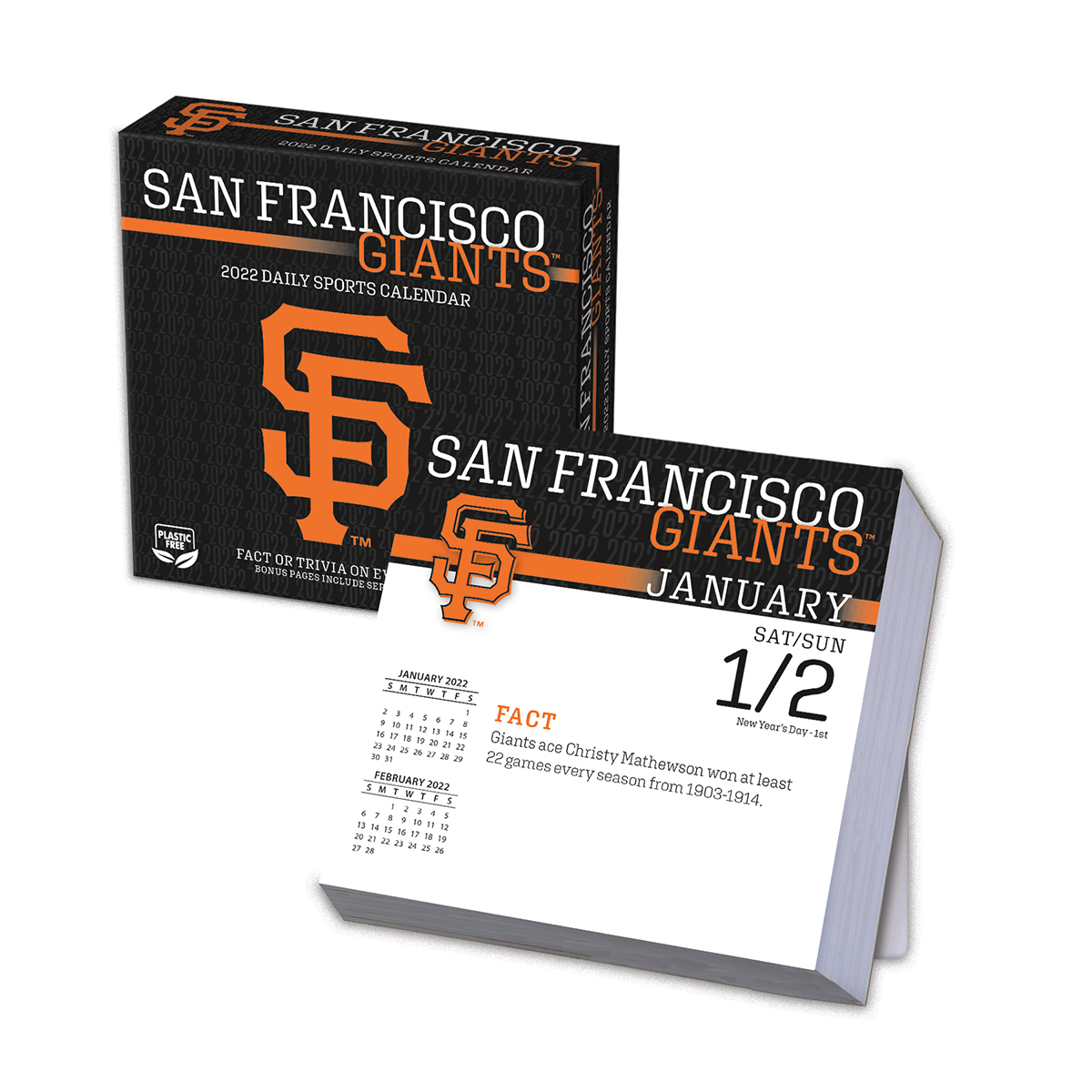 San Francisco Giants 2018 Page A Day Box Calendar Buy At
