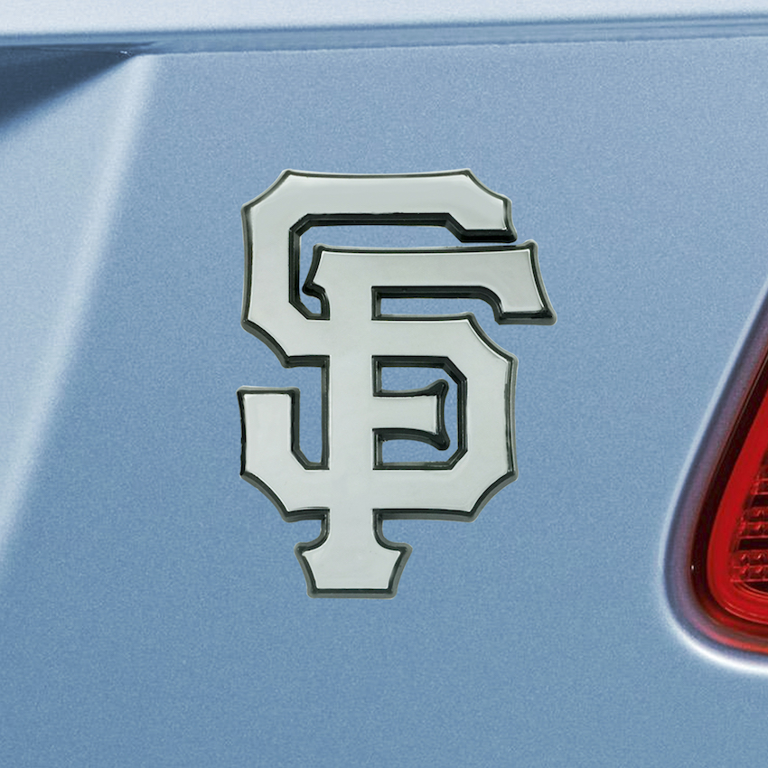 San Francisco Giants Chrome Metal Auto Emblem
