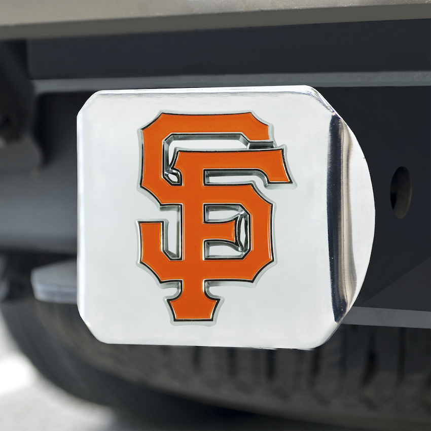 San Francisco Giants Color Chrome Trailer Hitch Cover