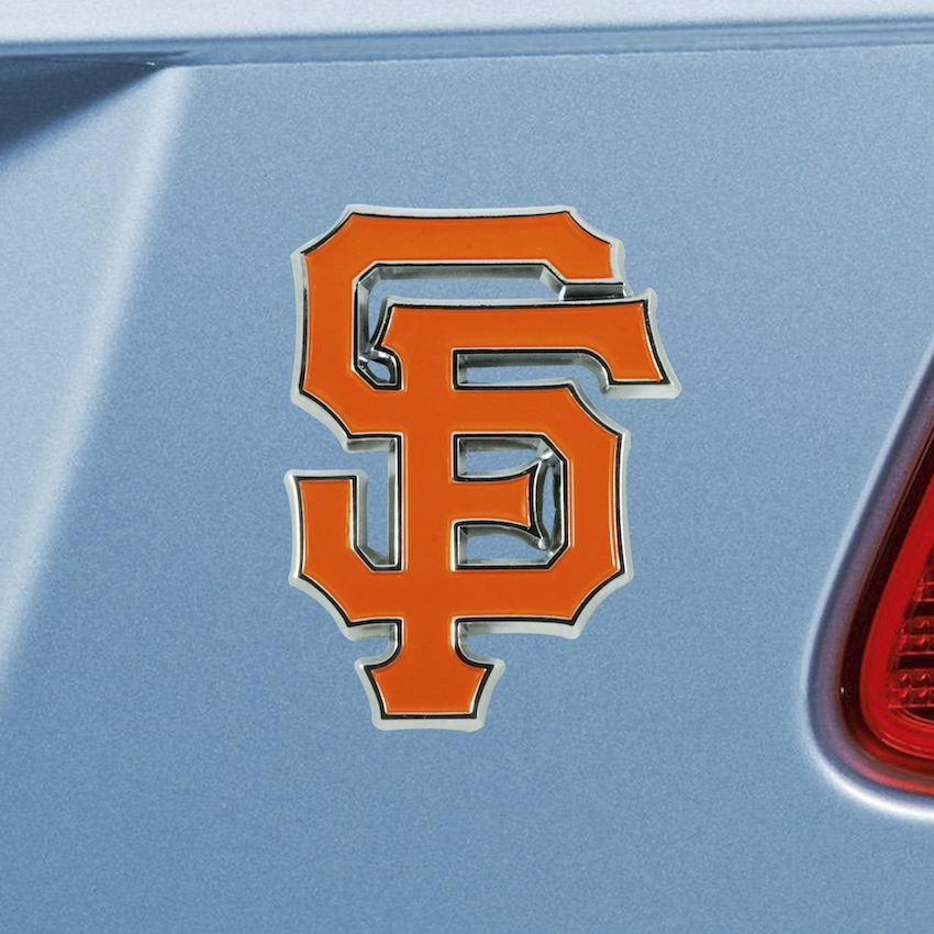 San Francisco Giants Color Metal Auto Emblem