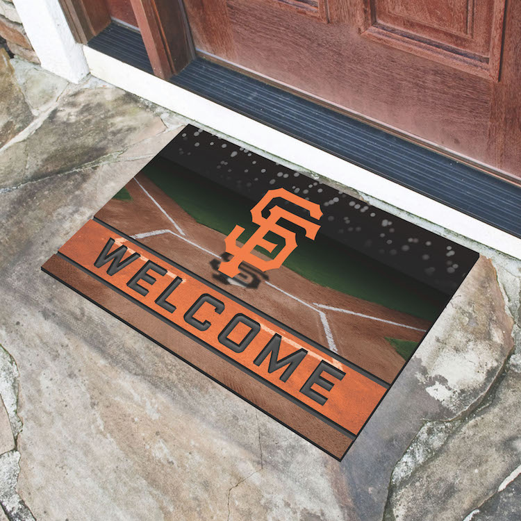 San Francisco Giants Recycled Crumb Rubber Door Mat