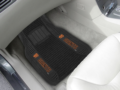San Francisco Giants Deluxe 20 x 27 Car Floor Mats