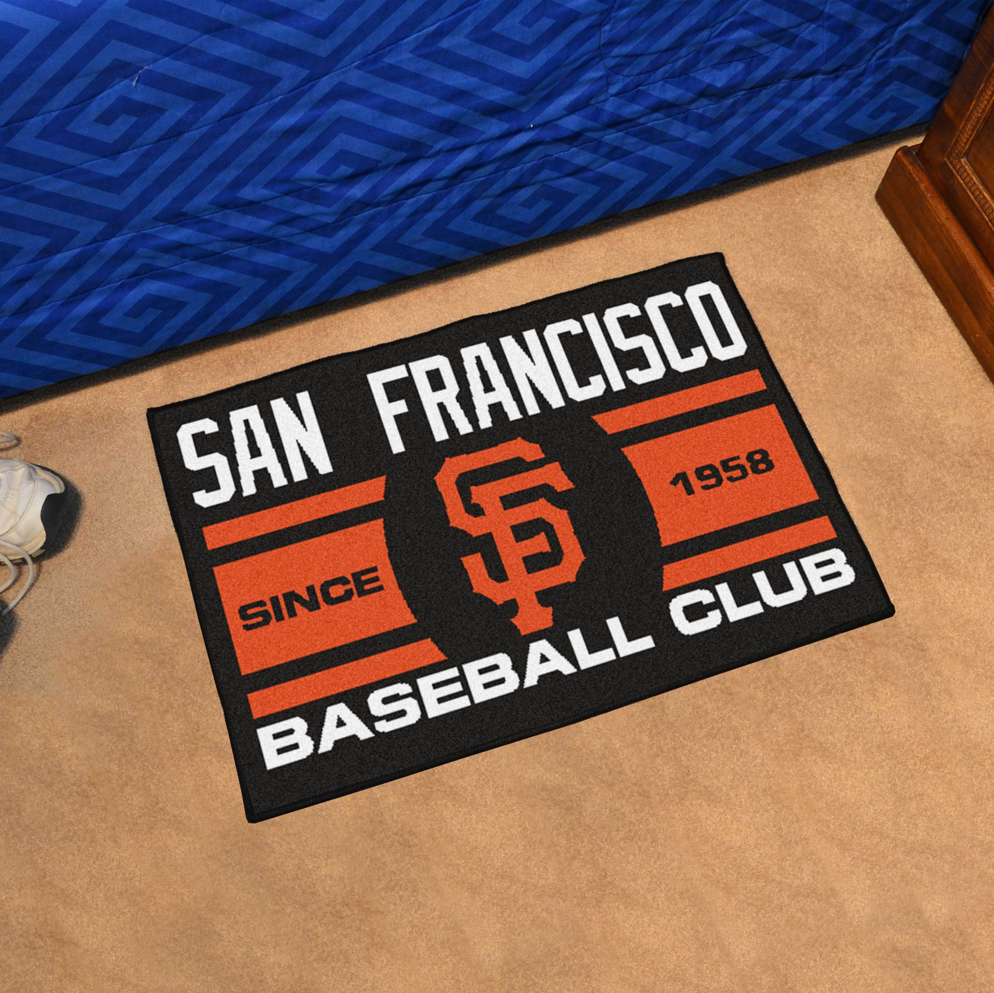 San Francisco Giants 20 x 30 Uniform STARTER Floor Mat