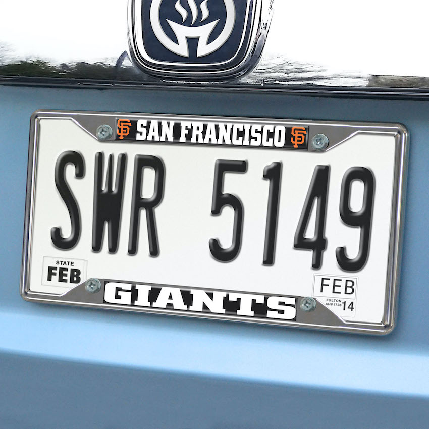 San Francisco Giants License Plate Frame