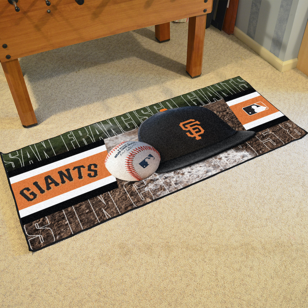 San Francisco Giants 30 x 72 Baseball Carpet Runner