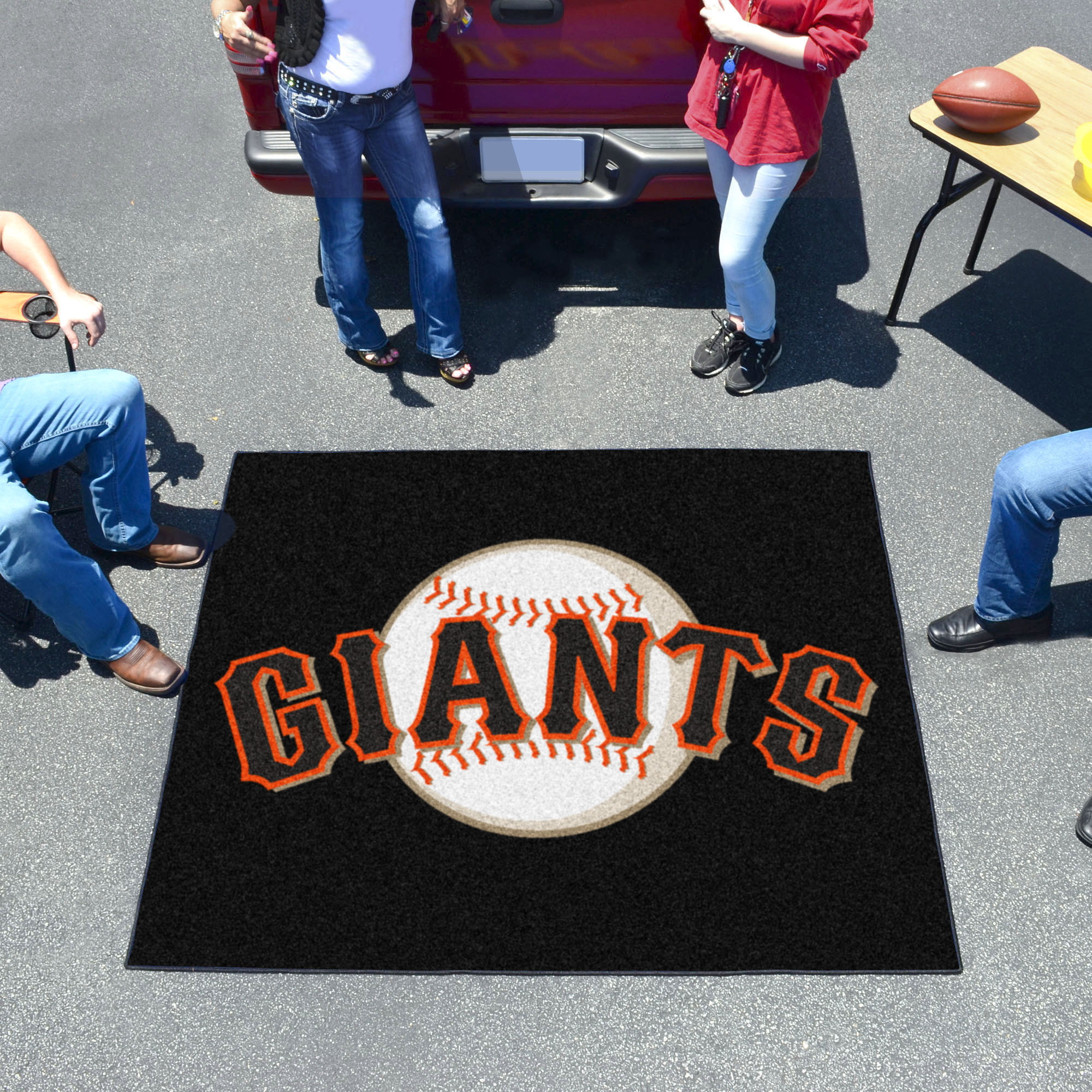 San Francisco Giants TAILGATER 60 x 72 Rug