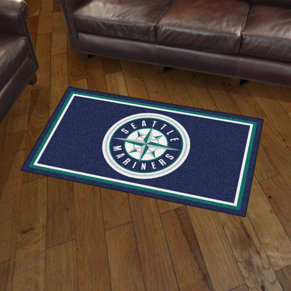 Seattle Mariners 3x5 Area Rug