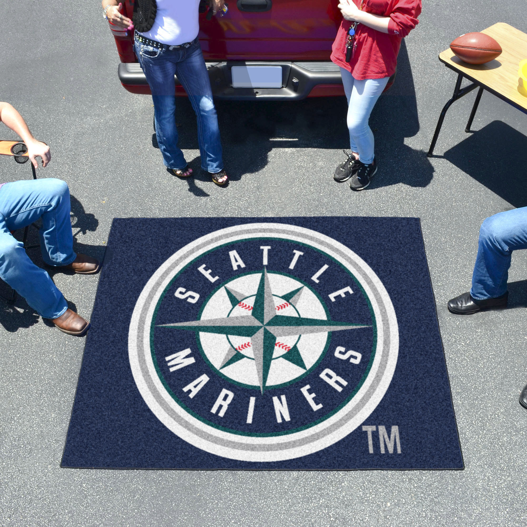 Seattle Mariners TAILGATER 60 x 72 Rug