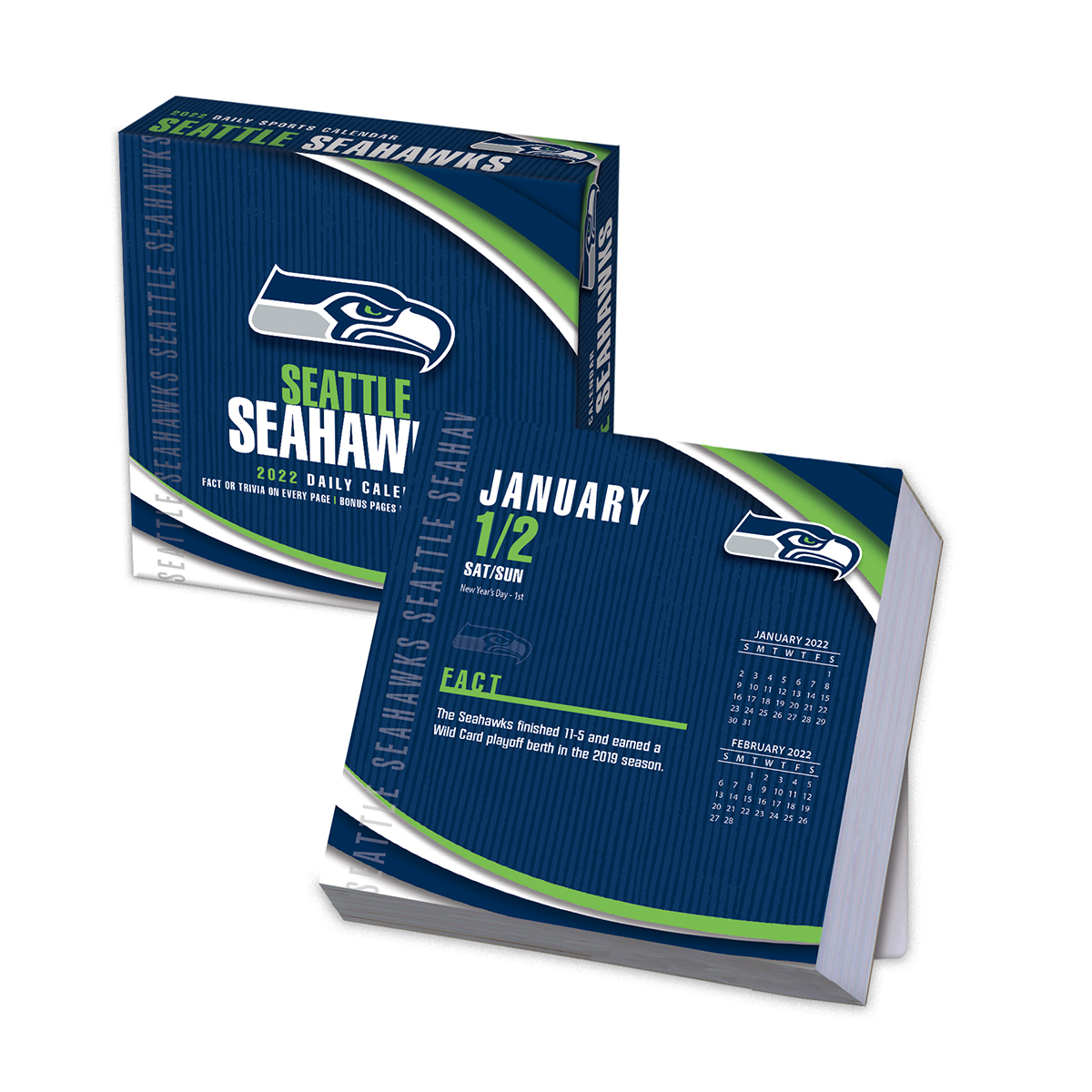 Seattle Seahawks 2021 NFL Page-A-Day Box Calendar