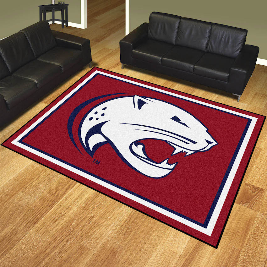 South Alabama Jaguars Ultra Plush 8x10 Area Rug