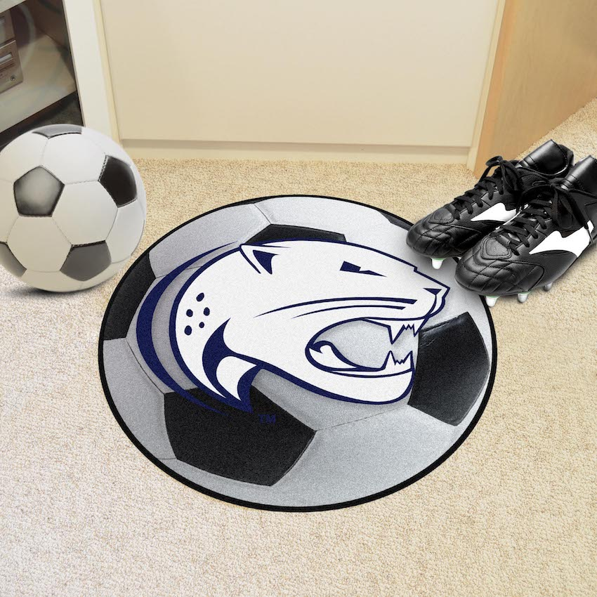 South Alabama Jaguars SOCCER BALL Mat
